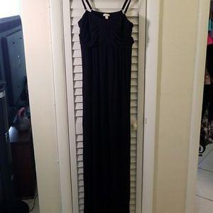 Soma knit maxi dress Sz L